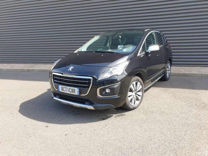 Peugeot 3008 2 1.6 bluehdi 120 allure bva6 Noir Occasion - 1
