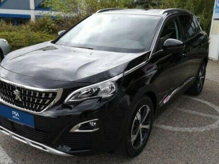 Peugeot 3008 Allure BLUE HDi 130 1.5  BM (toit panoramique) 09/2020 noir métal - 4