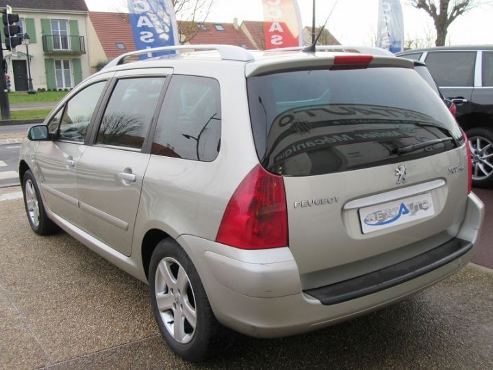 Peugeot 307 SW 2.0 HDI110 GRIFFE Gris Clair Occasion - 3