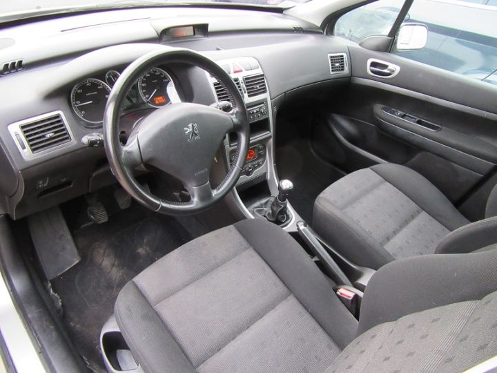 Peugeot 307 SW 2.0 HDI110 GRIFFE Gris Clair Occasion - 4