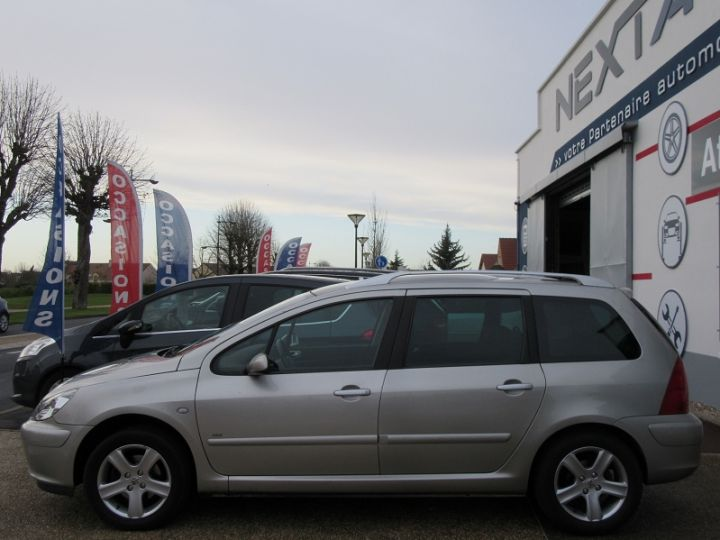 Peugeot 307 SW 2.0 HDI110 GRIFFE Gris Clair Occasion - 5