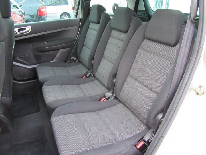 Peugeot 307 SW 2.0 HDI110 GRIFFE Gris Clair Occasion - 6
