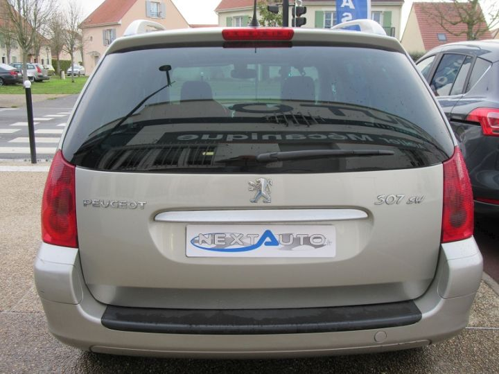 Peugeot 307 SW 2.0 HDI110 GRIFFE Gris Clair Occasion - 12