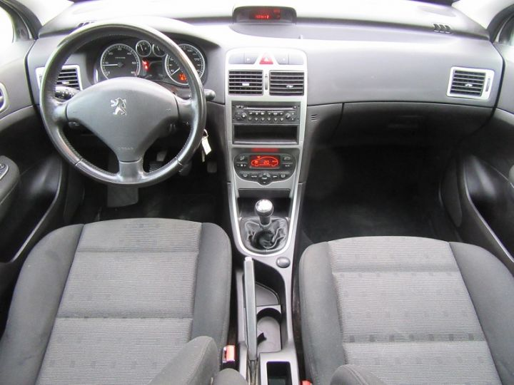 Peugeot 307 SW 2.0 HDI110 GRIFFE Gris Clair Occasion - 14