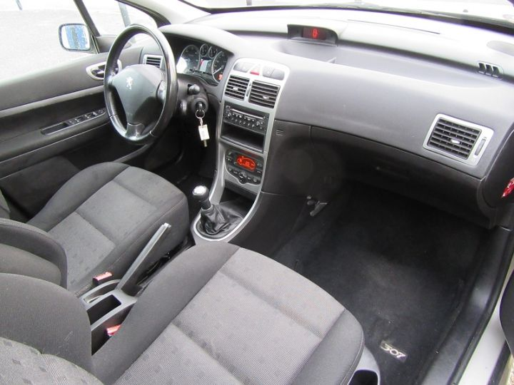 Peugeot 307 SW 2.0 HDI110 GRIFFE Gris Clair Occasion - 16