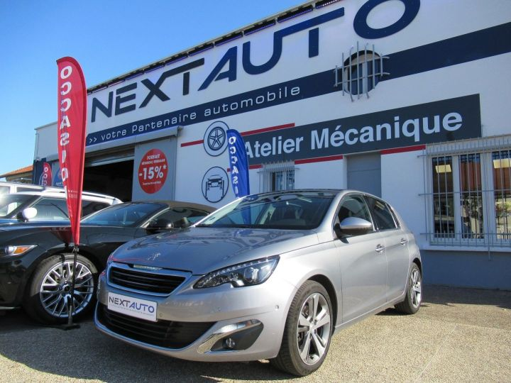 Peugeot 308 1.2 PURETECH 130CH FELINE S&S EAT6 5P Gris Clair - 1