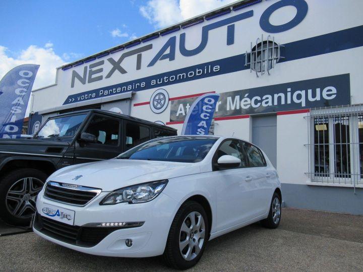 Peugeot 308 1.6 BLUEHDI 100CH S&S PACK CLIM NAV Blanc - 1