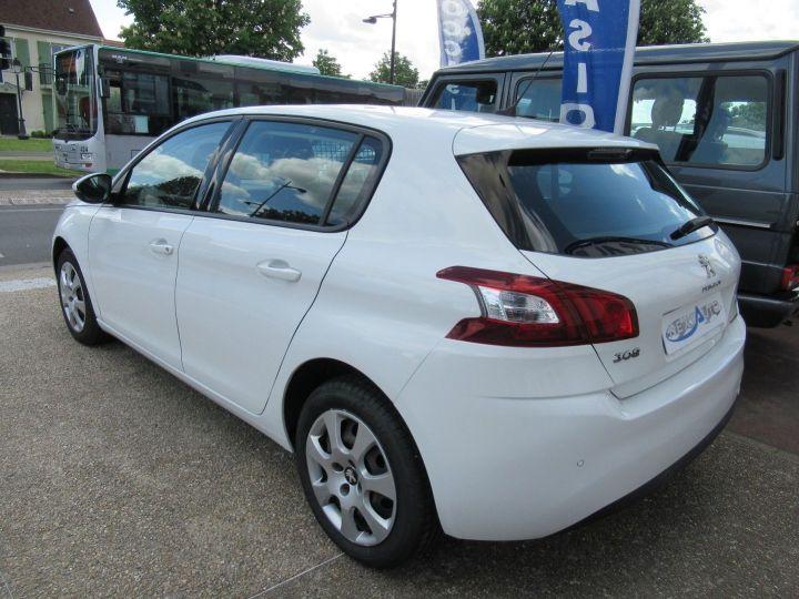 Peugeot 308 1.6 BLUEHDI 100CH S&S PACK CLIM NAV Blanc - 3