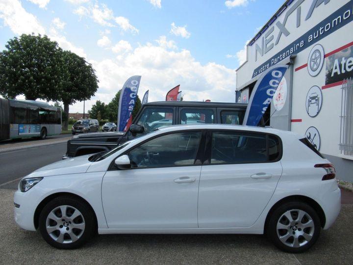 Peugeot 308 1.6 BLUEHDI 100CH S&S PACK CLIM NAV Blanc - 5