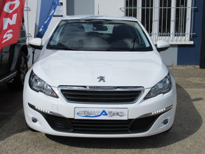 Peugeot 308 1.6 BLUEHDI 100CH S&S PACK CLIM NAV Blanc - 6