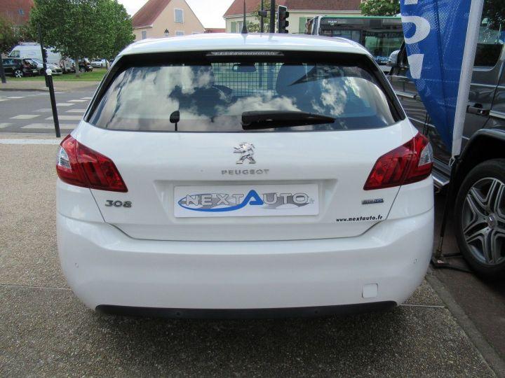 Peugeot 308 1.6 BLUEHDI 100CH S&S PACK CLIM NAV Blanc - 7