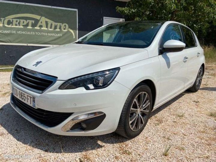 Peugeot 308 1.6 e-hdi 115 allure Blanc Occasion - 1