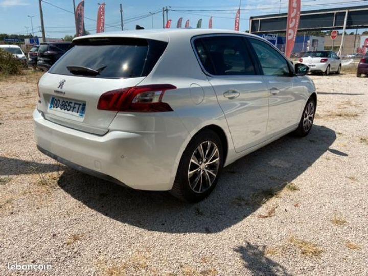 Peugeot 308 1.6 e-hdi 115 allure Blanc Occasion - 3