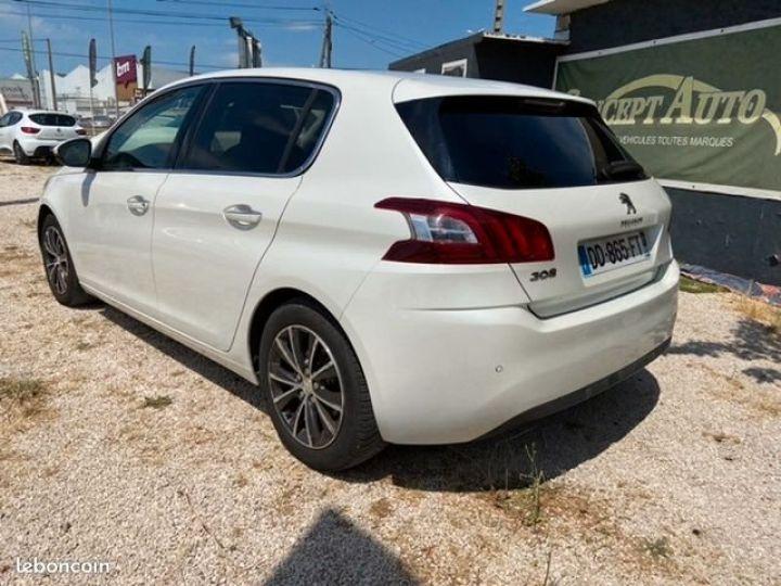 Peugeot 308 1.6 e-hdi 115 allure Blanc Occasion - 4