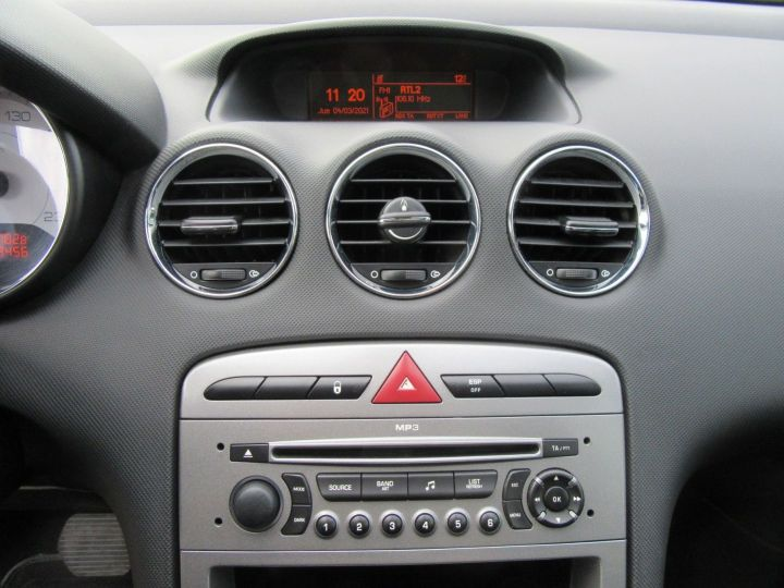 Peugeot 308 1.6 THP 16V PREMIUM BAA 150CH 5P Gris Fonce - 17