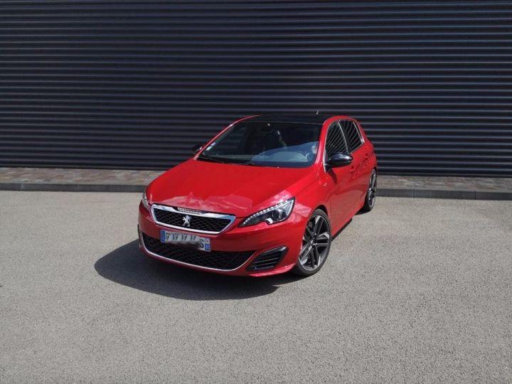 Peugeot 308 1.6 thp 270 GTI-Rev/Garantie 12 Moi Rouge Occasion - 6
