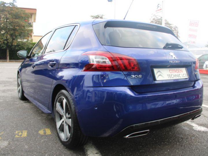 Peugeot 308 2.0 BLUEHDI 150CH S&S EAT6 GT Line Bleu - 4