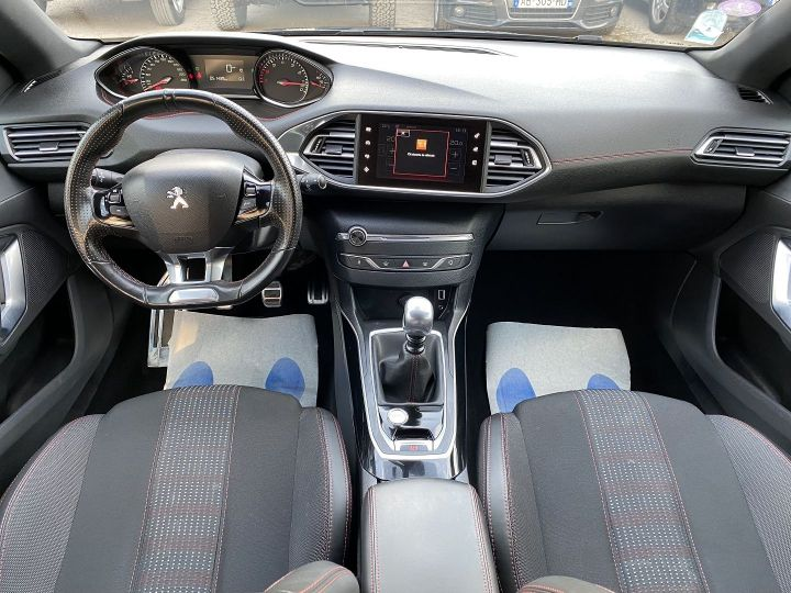 Peugeot 308 SW 1.2 PURETECH 130CH GT LINE S&S Gris F - 10