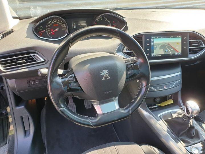 Peugeot 308 SW 2 ii 2.0 bluehdi 150 feline bv6 Noir Occasion - 9