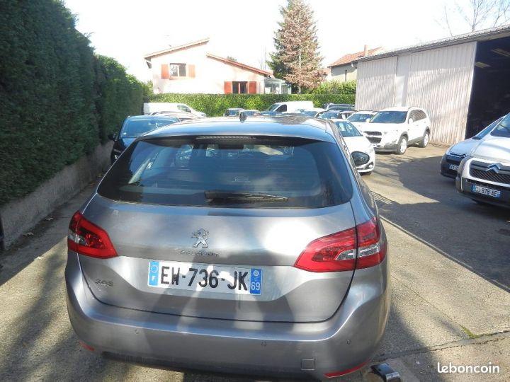 Peugeot 308 SW Active Business BlueHDi 120 garantie 12 mois Gris - 4