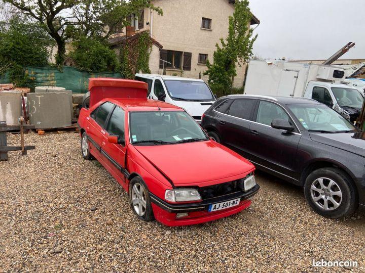 Peugeot 405 2.0 mi16 rouge en l état Rouge - 1