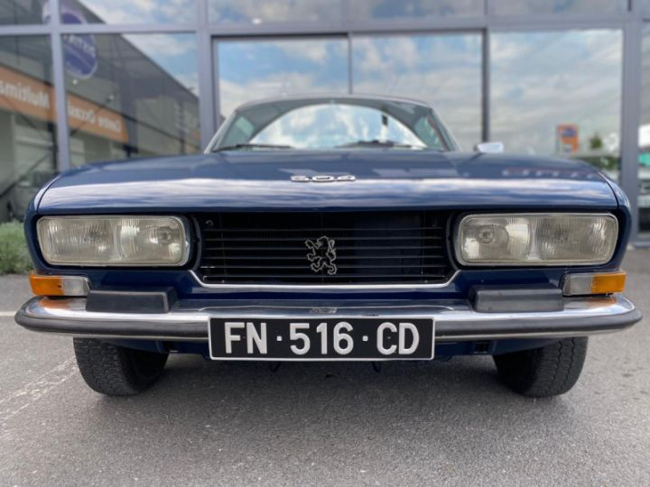 Peugeot 504 COUPÉ 2.0 Bleu - 4