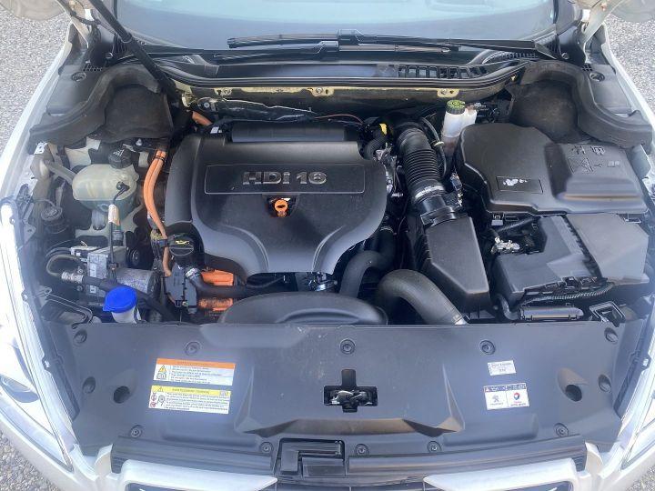 Peugeot 508 2.0 E-HDI FAP BMP6 + ELECTRIQUE 37CH Blanc - 14