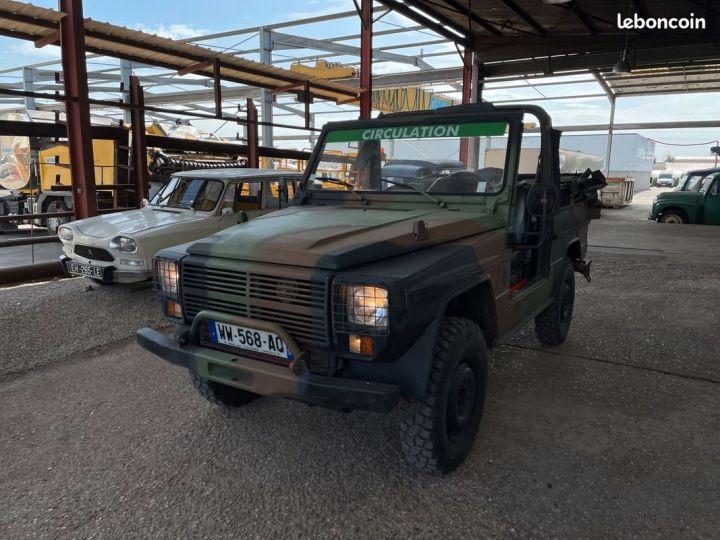 Peugeot P4 diesel 6 places ex armée française Vert - 2