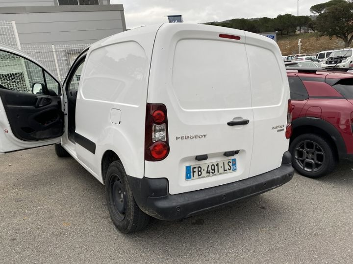 Peugeot Partner LONG ELECTRIQUE 67CH PREMIUM Blanc - 3