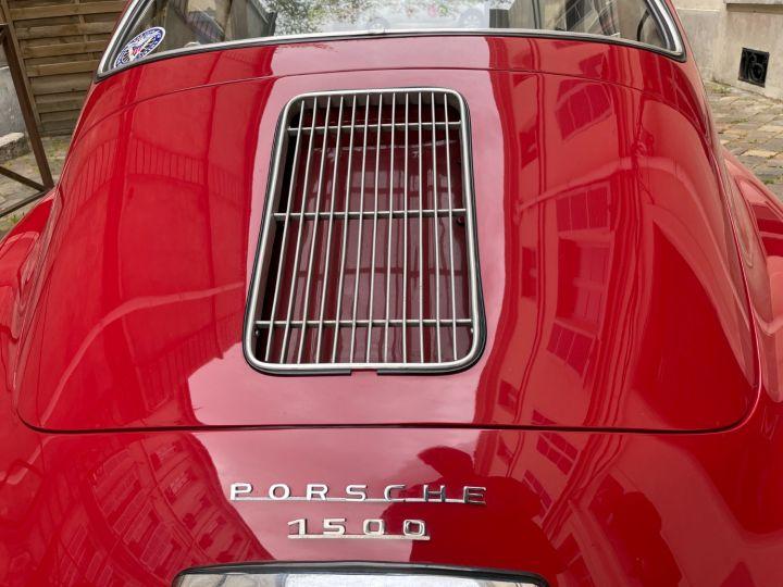 Porsche 356 Pré-A 1500 Coupé Reutter Rouge - 7