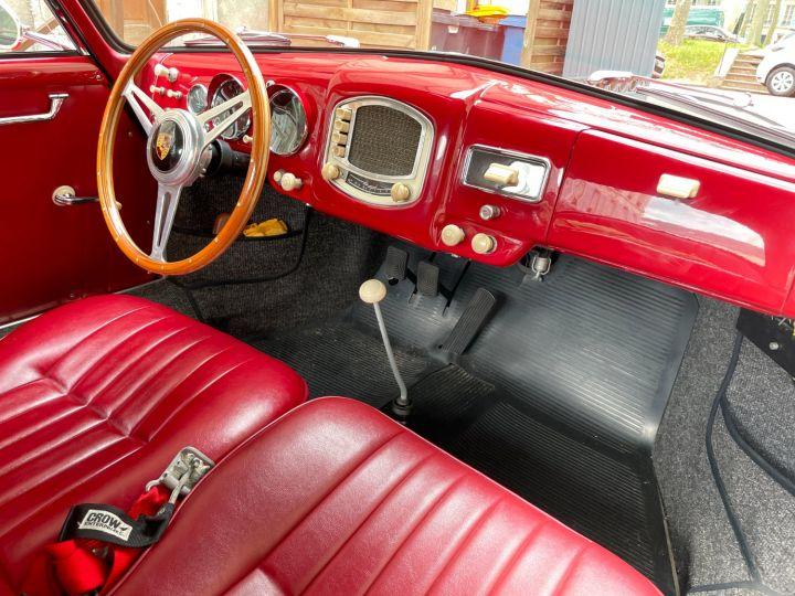 Porsche 356 Pré-A 1500 Coupé Reutter Rouge - 17