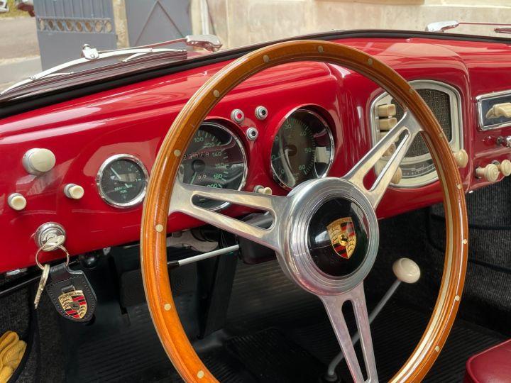 Porsche 356 Pré-A 1500 Coupé Reutter Rouge - 19