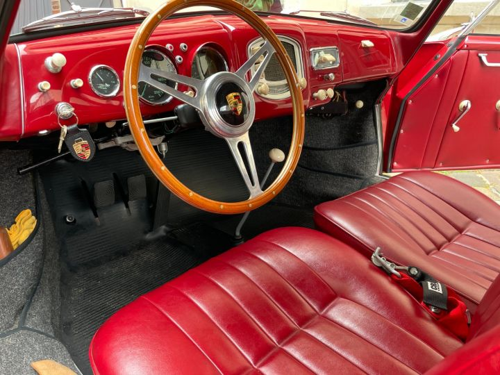 Porsche 356 Pré-A 1500 Coupé Reutter Rouge - 20