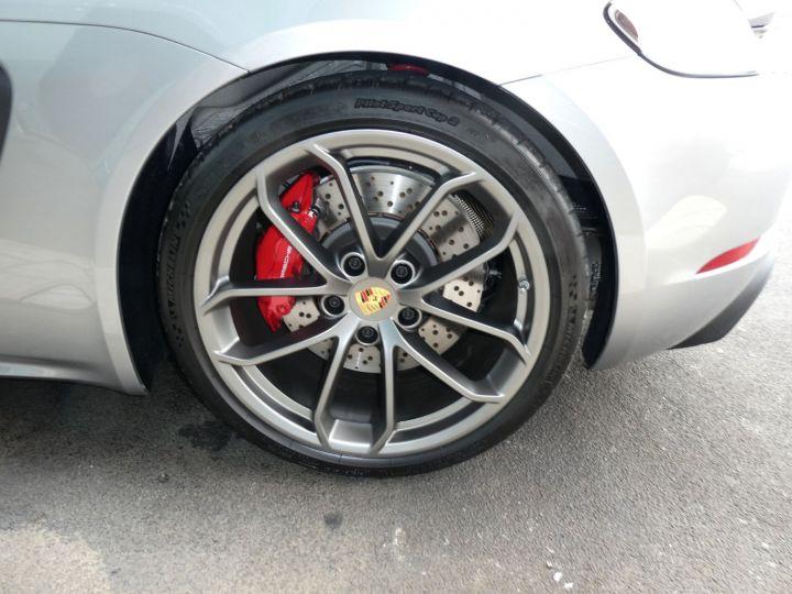 Porsche 718 Spyder Argent Vendu - 16
