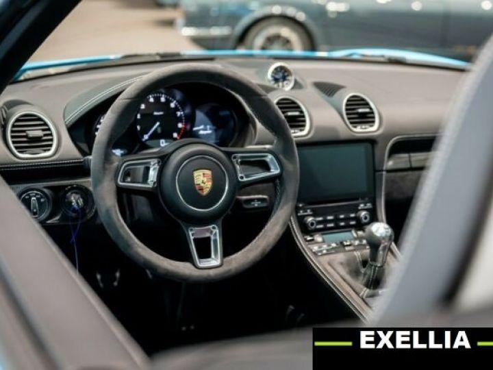 Porsche 718 Spyder  BLEU MIAMI  Occasion - 5