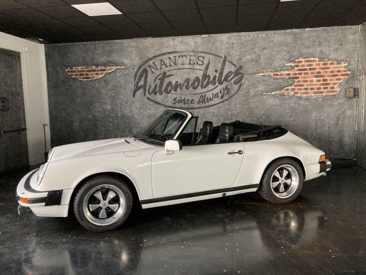 Porsche 911 3.0 SC Cabriolet  blanc Grand Prix white - 2