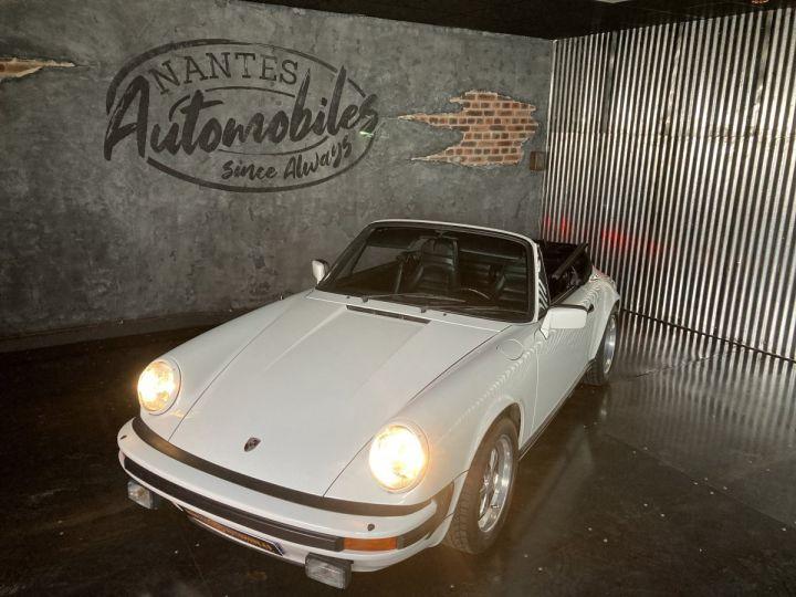 Porsche 911 3.0 SC Cabriolet  blanc Grand Prix white - 5