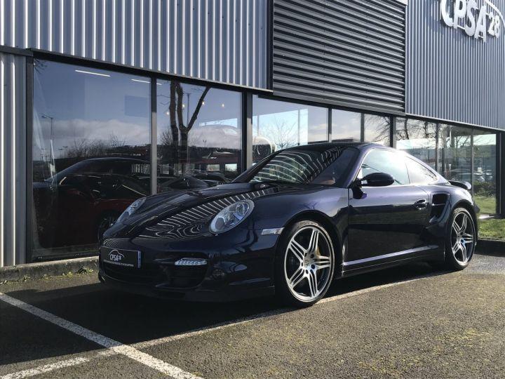 Porsche 911 911 (997) 3.6 480 TURBO TIPTRONIC S Bleu Métal - 1