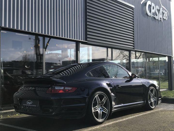 Porsche 911 911 (997) 3.6 480 TURBO TIPTRONIC S Bleu Métal - 3