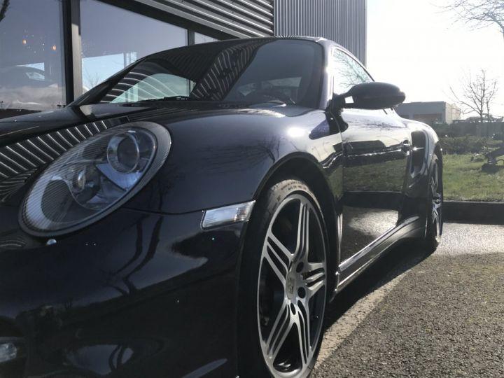 Porsche 911 911 (997) 3.6 480 TURBO TIPTRONIC S Bleu Métal - 5