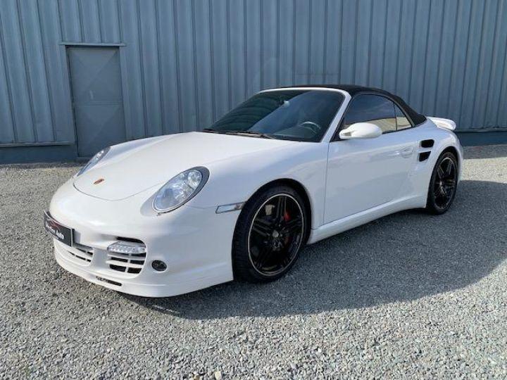 Porsche 911 911 CABRIOLET 3.6 480 TURBO Blanc - 1