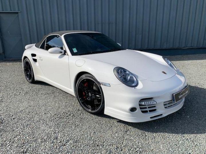 Porsche 911 911 CABRIOLET 3.6 480 TURBO Blanc - 2