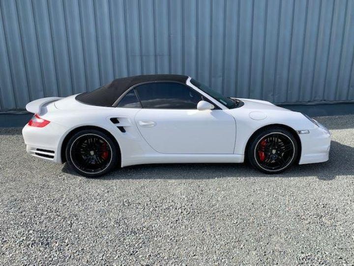 Porsche 911 911 CABRIOLET 3.6 480 TURBO Blanc - 5