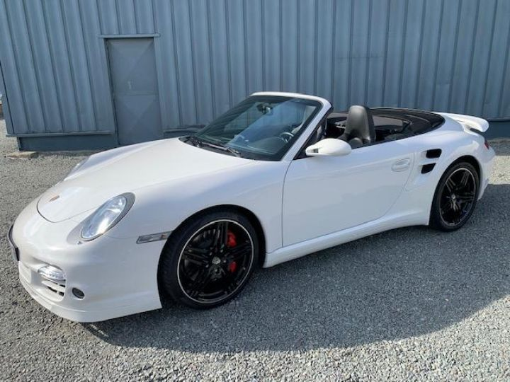 Porsche 911 911 CABRIOLET 3.6 480 TURBO Blanc - 11