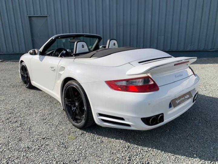 Porsche 911 911 CABRIOLET 3.6 480 TURBO Blanc - 12