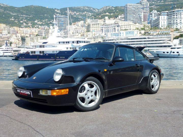 Porsche 911 965 TURBO 3.3 Noir Metal Occasion - 1