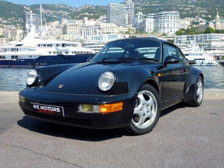 Porsche 911 965 TURBO 3.3 Noir Metal Occasion - 2