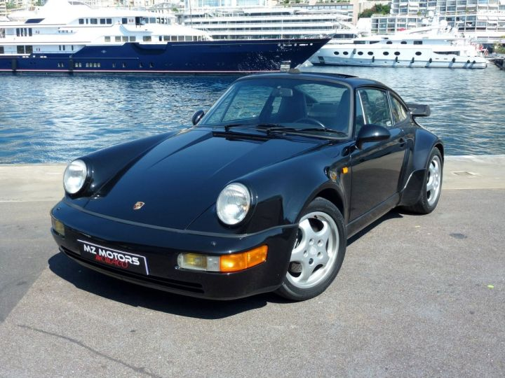 Porsche 911 965 TURBO 3.3 Noir Metal Occasion - 3