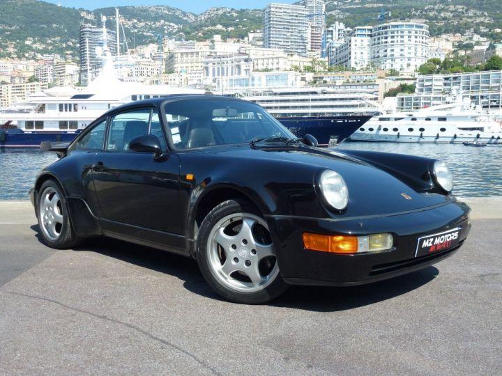 Porsche 911 965 TURBO 3.3 Noir Metal Occasion - 7