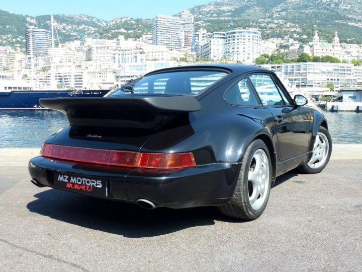 Porsche 911 965 TURBO 3.3 Noir Metal Occasion - 8